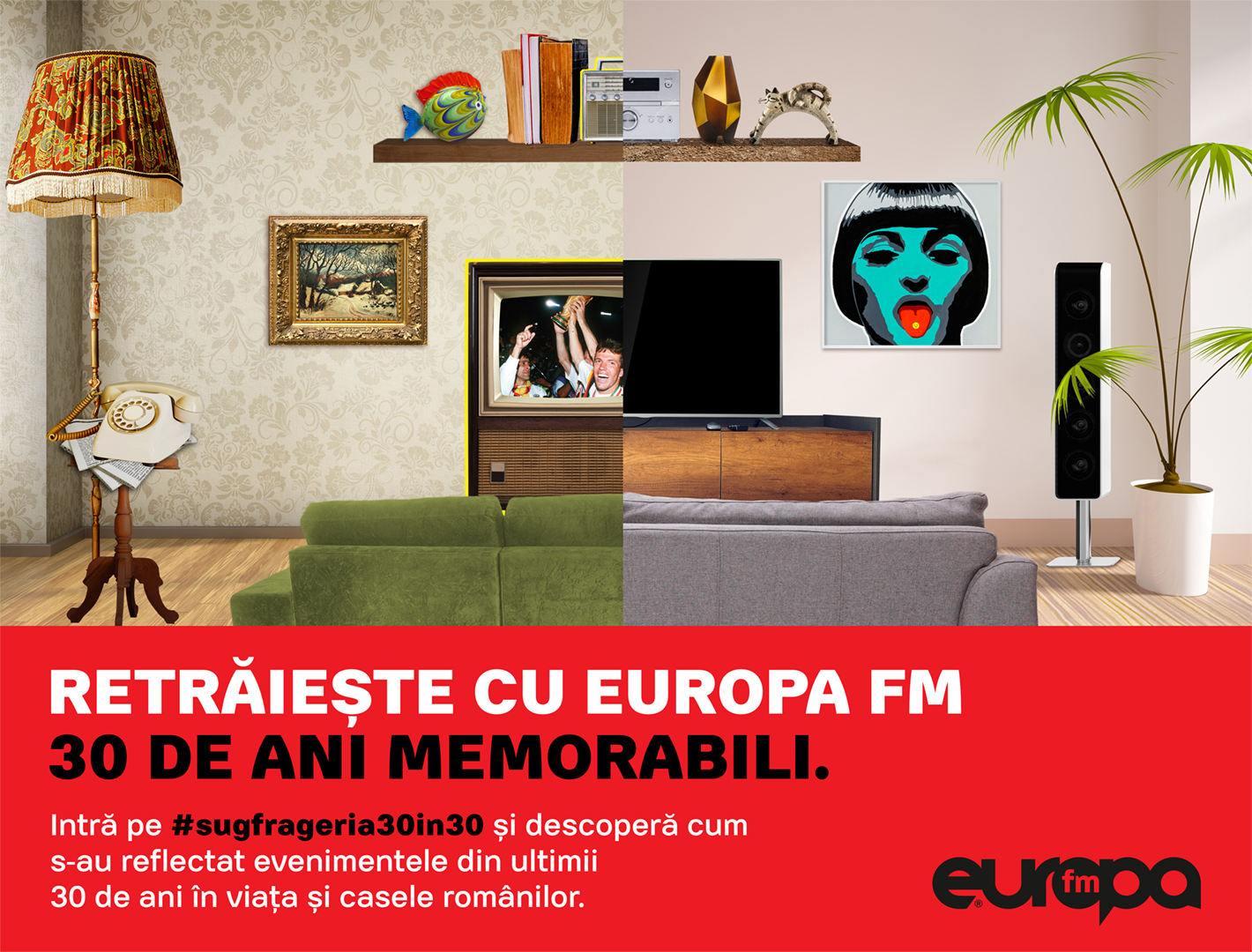 Sit on the couch, listen to EuropaFm and celebrate 30 years of freedom