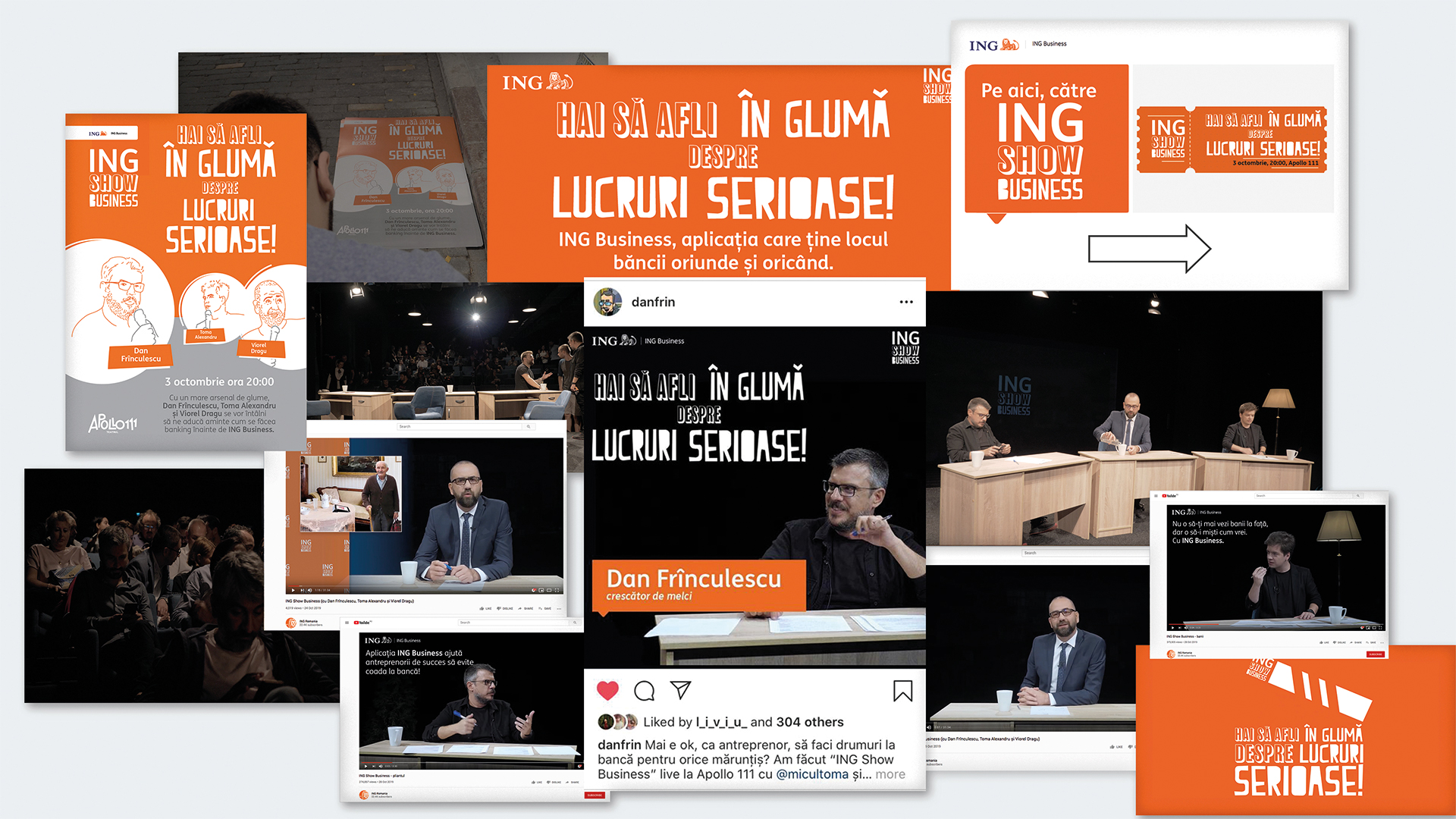 Our freshest communication campaign for ING Business